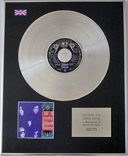 La Guns-Ltd Edizione CD platinum disc-Hollywood Vampires
