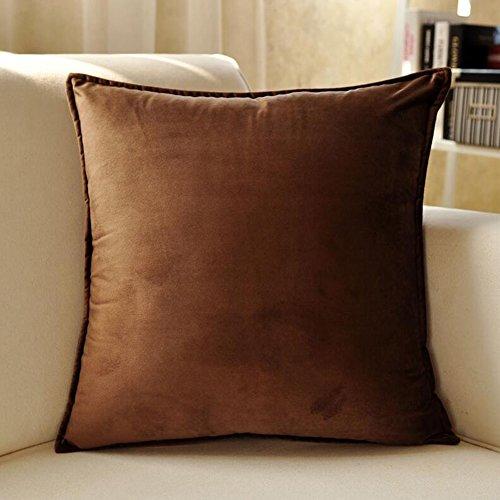 CJC Oreillers Coussins Dossier Textiles Arrière Soutien Luxe Plante Coton Couverture Lombaire Lit Canapé Bureau Chaise du Repos (Couleur : T4, Taille : 45 * 45cm)