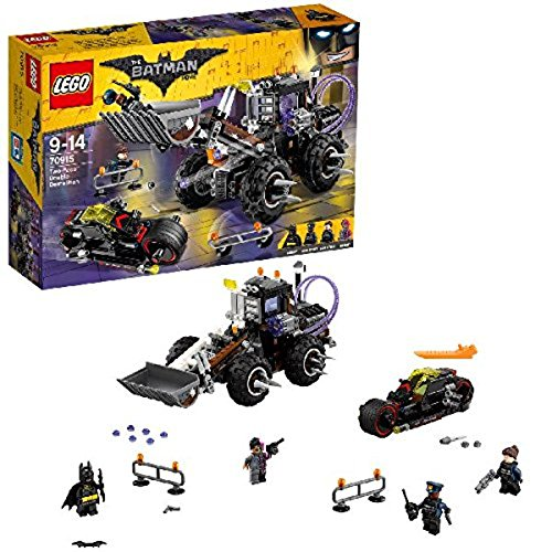 LEGO The Batman Movie 70915 - Doppeltes Unheil durch Two-Face, Kinderspielzeug - Batman-stadt Lego