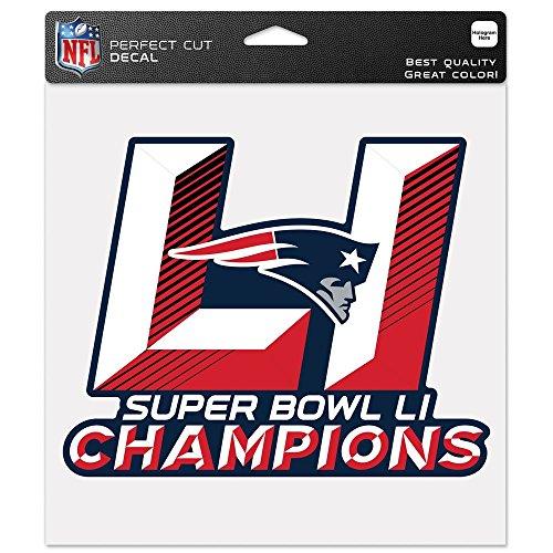 Wincraft NFL NEW ENGLAND PATRIOTS Super Bowl 2017 Champions Aufkleber - Super Bowl-fanartikel Patriots