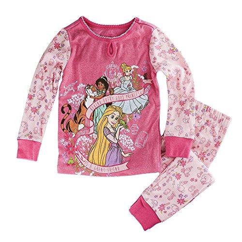 Disney Store Prinzessin Jasmin, Cinderella und Rapunzel PJ PALS Pyjamas f¡§?r M?dchen, Rosa, Gr??e 5