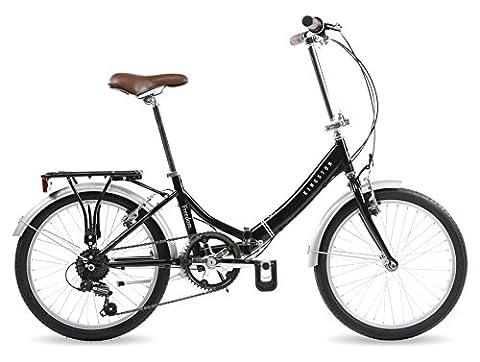 Kingston Liberté fichier 50,8cm Vélo pliable Noir–Mixte