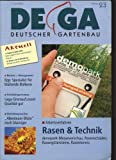 Rasen & Technik - demopark-Messevorschau, Rasenschäden, Rasengittersteine, Rasentennis, in: DEUTSCHER GARTENBAU, Woche 23, 7. Juni 2003.