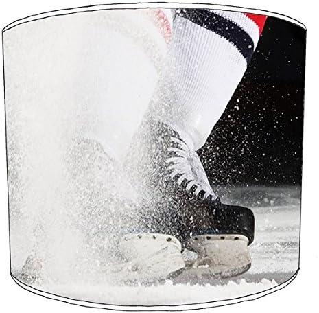 Premier Lampshades Stampa Hockey Paralume da soffitto, cm 20,3 cm soffitto, 5, ca. 20 cm 6acb7e
