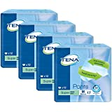 Case Saver 4 x TENA Pants Super - Medium (80-110cm/32-42in) Pack of 12
