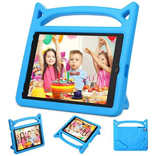 Neue iPad 24,6cm 2017/iPad Air 2/iPad Air Case-dinines Kids Friendly Licht Gewicht stoßfest Cabrio Griff Stand Cover für Apple New iPad 24,6cm 2017Modell, iPad Air 2, iPad Air 2017 iPad Case-Blue (2-case Ipad Apple Blue)