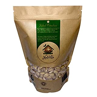Salted Pistachios Nuts Natural Roasted Shelled Premium Quality Healthy Tasty Fresh 350 Grams
