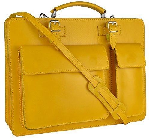 Bags4Less Unisex-Erwachsene Mondial Laptop Tasche, 10 x 30 x 40 cm Gelb