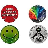 EXS Kondome Neuheit Mix–Glowing, Notfall, Smiley,, City Air dünn preisvergleich bei billige-tabletten.eu