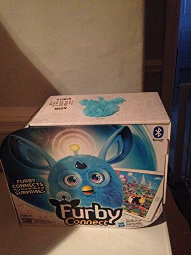 Furby Latest Furby Connect - Blue Apps Including Music And Videos - Xmas Toys