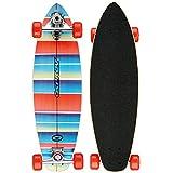 Osprey Stripe Complete Carver Skateboard - Stripe, 29-Inch