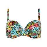 CYELL Damen Gypsy Rose Bikinioberteil Top Badeanzug Bademode Bunt Cup D-F 36-44