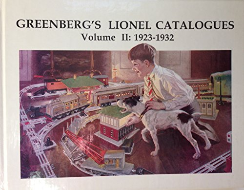Greenberg's Lionel Catalogues, 1923-1932: 002