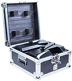 BoomTone DJ Flight-case pour 2 x Dymano Scan LED Noir