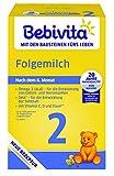 Bebivita Milchnahrung 2 Folgemilch, 4er Pack (4 x 500 g)