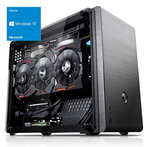 Kiebel Compact Gaming PC Storm Intel 9.0 (Intel Core i7 9700K (8x3.6GHz), NVIDIA RTX 2080Ti 11GB, 16GB DDR4 RGB, 1TB SSD) Gamer Computer, High End Rechner [184909]