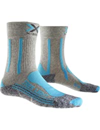X-Socks Trekking Light Women Medium Light Grey - Turquois