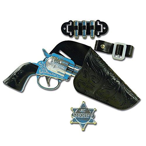 Bristol Novelty BA348Cowboy-Pistolenset, silber, Einheitsgröße