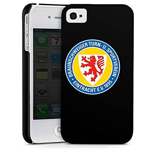 Apple iPhone X Silikon Hülle Case Schutzhülle Eintracht Braunschweig Fanartikel Fussball Premium Case glänzend