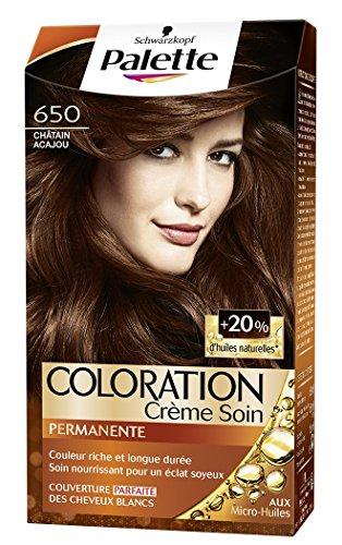 Palette - Coloration Permanente Châtain Acajou 650