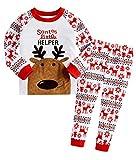 Little Hand Jungen Zweiteiliger Schlafanzug Baumwolle Lange Nachtwäsche Tier Dino Kinder Pyjama