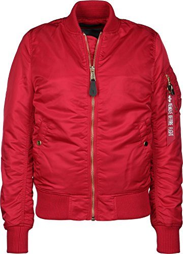 Alpha Industries MA-1 VF PM W Jacke XS spped red