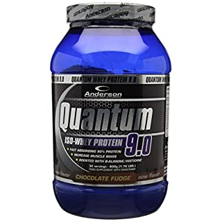 Anderson Quantum 9.0 ISO Whey Protein Powder Double Chocolate 800 g