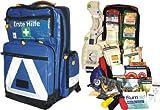 Erste Hilfe Notfallrucksack für Sportvereine, Freizeit & Event - Plane blau