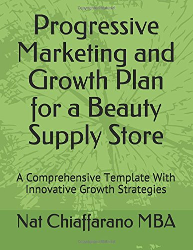 Progressive Marketing and Growth Plan for a Beauty Supply Store: A Comprehensive Template With Innovative Growth Strategies
