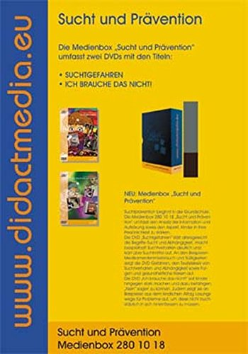 Sucht und Prävention für die Grundschule Medienbox 280 10 18: Ich brauch das nicht,  Suchtgefahren, 2 DVD's
