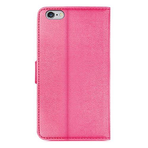 Orzly® - Etui Multifonctions pour Apple iPhone SE (2016), iPhone 5S (2013) et iPhone 5 (2012) - Les Versions de 4,0 Pouces Modèle) - Emballage Premium - Housse Format Portefeuille (Wallet Case) avec S ROSE MFW pour iPhone 5 / 5S / SE