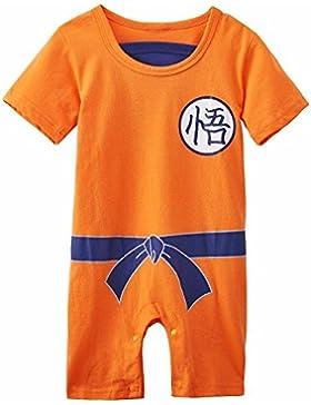 Ropa bebé Super héro dbz| Body Pijama Niños | disfraz Goku | disfraz Original y Rigolo | 100% algodón