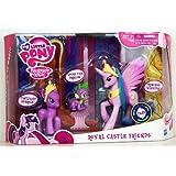 My Little Pony - Friendship is Magic - Royal Castle Friends - includes Princess Celestia, Twilight Sparkle & Spike the Dragon