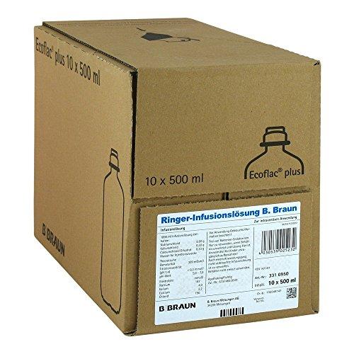Ringer Lösung B.Braun Ecoflac Plus, 10X500 ml