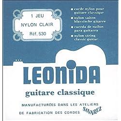 Savarez Leonida 530 Nylon Guitarra Clásica Juego de cuerdas