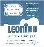 Savarez Leonida 530 Jeu de Cordes pour Guitare classique
