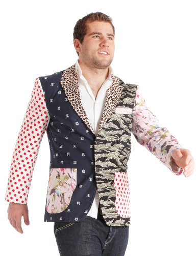 (Morphsuits Foul Fashion Blazer, Größe: S, Brustumfang 93,9 cm.)