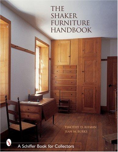 Antiquitäten Shaker (The Shaker Furniture Handbook (Schiffer Book for Collectors))