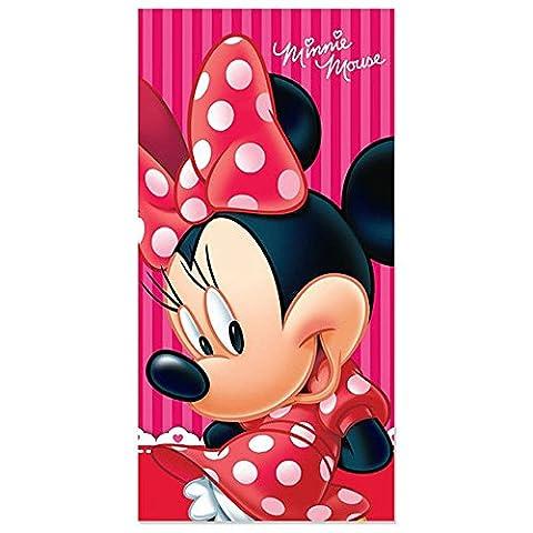 Serviette de bain Drap de plage Disney Minnie 70 x 140 cm