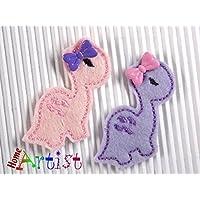 Dino Haarspange für Kleinkinder - freie Farbwahl