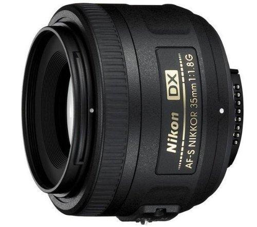 Nikon 35 mm/F 1.8 AF-S G NIKKOR DX-35 mm Objektiv (Nikon F-Anschluss,True)