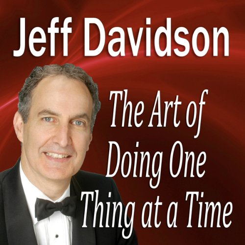 The Art of Doing One Thing at a Time  Audiolibri