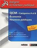 QCM Economie, finances publiques : Catégories A & B