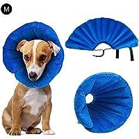 dianhai Collar Inflable para Mascotas para Perros Grandes, cómodo Cono de Cuello para Mascotas para