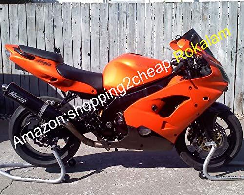 Hot de vente, personnalisé Ensemble de Carénages pour Kawasaki Ninja Zx9r 2000 2001 ZX 9R 00 01 Zx-9r Orange Noir pour moto Marché kit Carénage