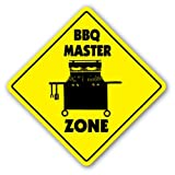 SignMission BBQ Master Crossing Sign Zone Xing |-| 30,5 cm Hoch Cook Grill Soul Food Southern