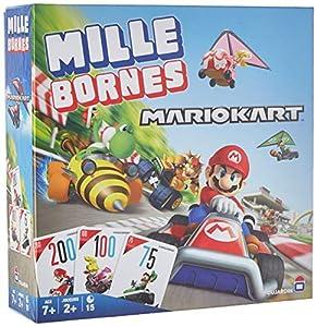 Dujardin Mille bornes - Mario Kart Juego de Mesa de Carreras Niños - Juego de Tablero (Juego de Mesa de Carreras, Niños, 15 min, 7 año(s), 110 Pieza(s), 4 Pieza(s))