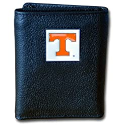 NCAA Tennessee Volunteers Deluxe Leather Tri-fold Wallet