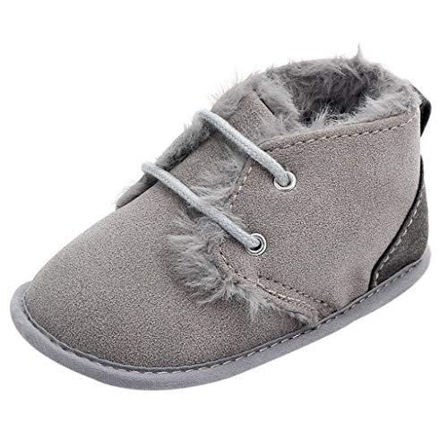 LEXUPE Neugeborenes Baby Schuhe Warm Patchwork Rutschfeste Erste Wanderer Stiefel Weiche Sohle Schuhe