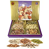 #4: Emazing Gourmet - UPHAAR - Dry Fruit Gift Pack - Almonds , Cashew , Raisins , Mixed Mewa , Pistachio & Apricot ( 50 Grams Each )